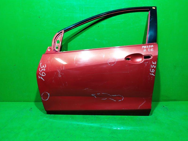 Дверь Mazda 2 DE 2007 передняя левая (б/у)