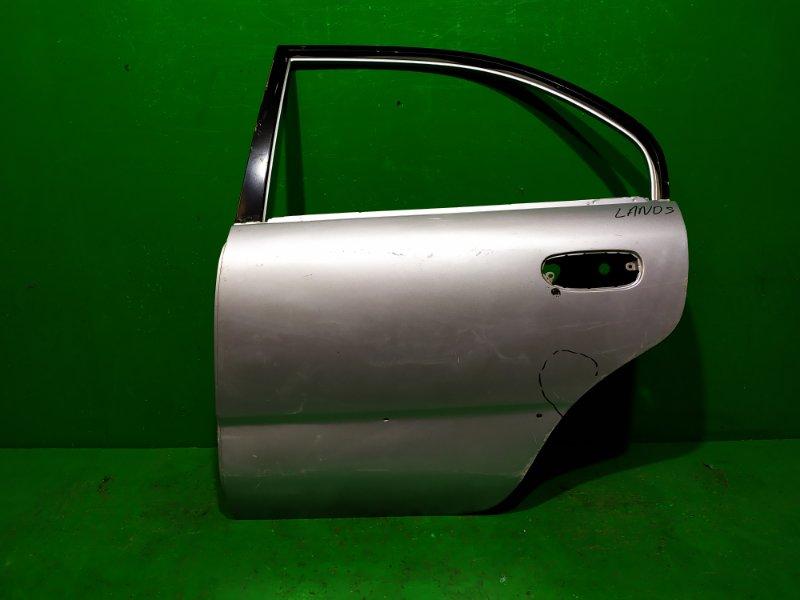 Дверь Chevrolet Lanos 2002 задняя левая (б/у)