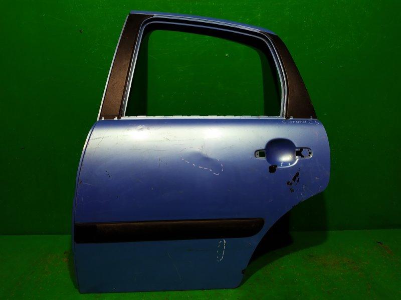 Дверь Citroen C3 2001 задняя левая (б/у)
