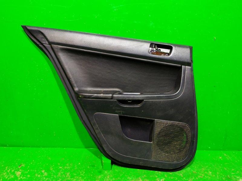 Обшивка двери Mitsubishi Lancer 10 2007 задняя левая (б/у)
