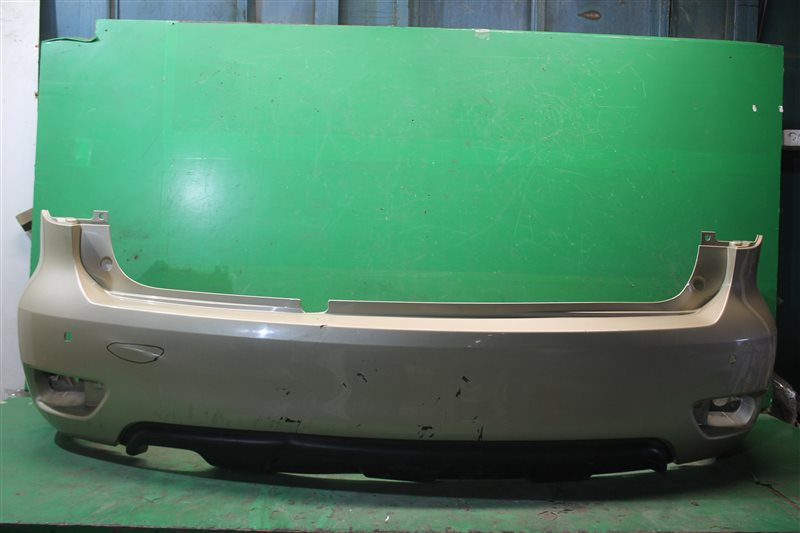 Бампер Nissan Patrol Y62 2010 задний (б/у)