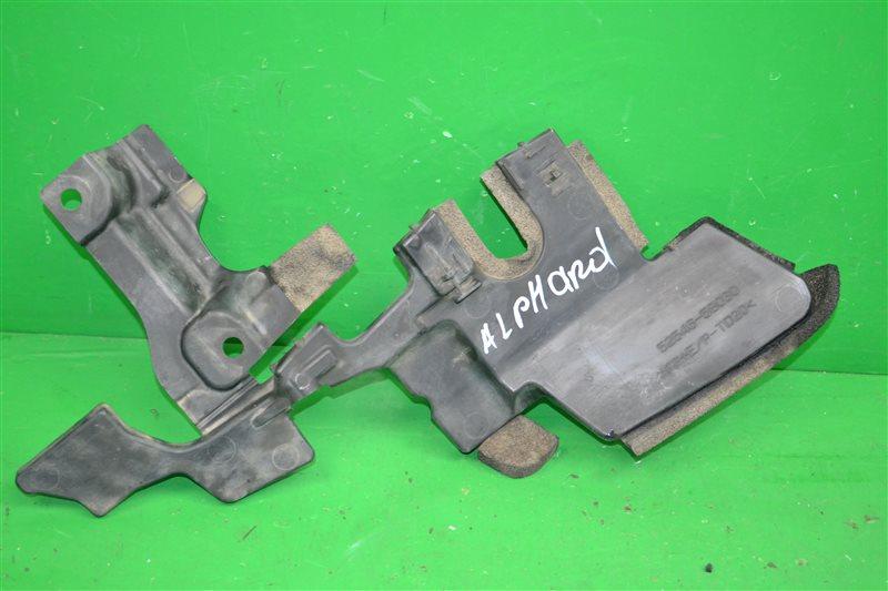 Дефлектор радиатора Toyota Alphard 2 2008 левый (б/у)