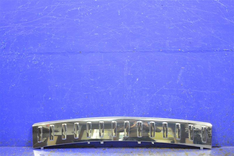 Накладка бампера Mercedes Ml Gle W166 2011 задняя нижняя (б/у)