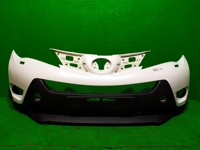 Бампер Toyota Rav 4 CA40 2012 передний (б/у)