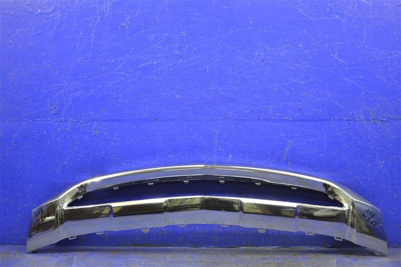 Накладка бампера Mercedes Ml Gle W166 2011 передняя нижняя (б/у)