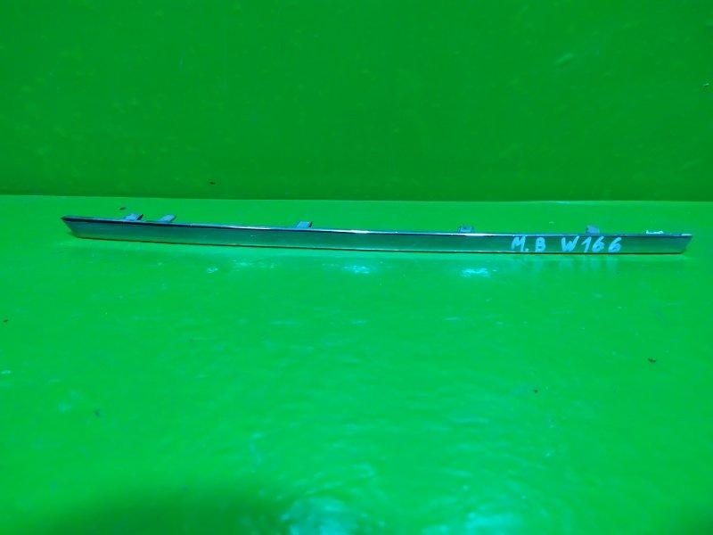 Накладка решетки радиатора Mercedes Ml Gle W166 X166 2011 (б/у)