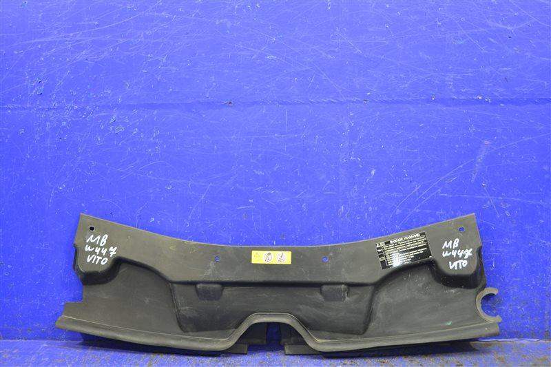 Накладка замка капота Mercedes V W447 2014 (б/у)