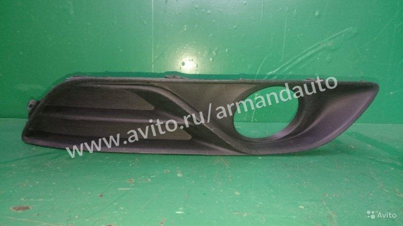 Накладка птф Nissan Sentra B17 2012 правая (б/у)