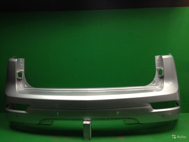 Бампер Chevrolet Trailblazer 2 2012 задний (б/у)