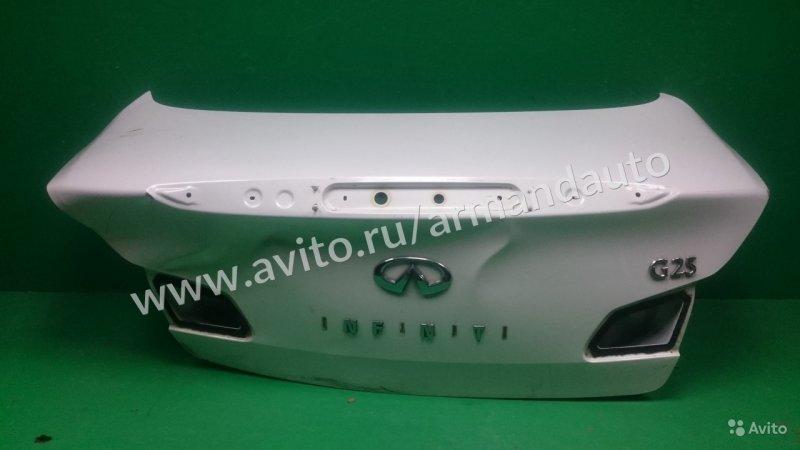 Крышка багажника Infiniti G V36 2006 (б/у)
