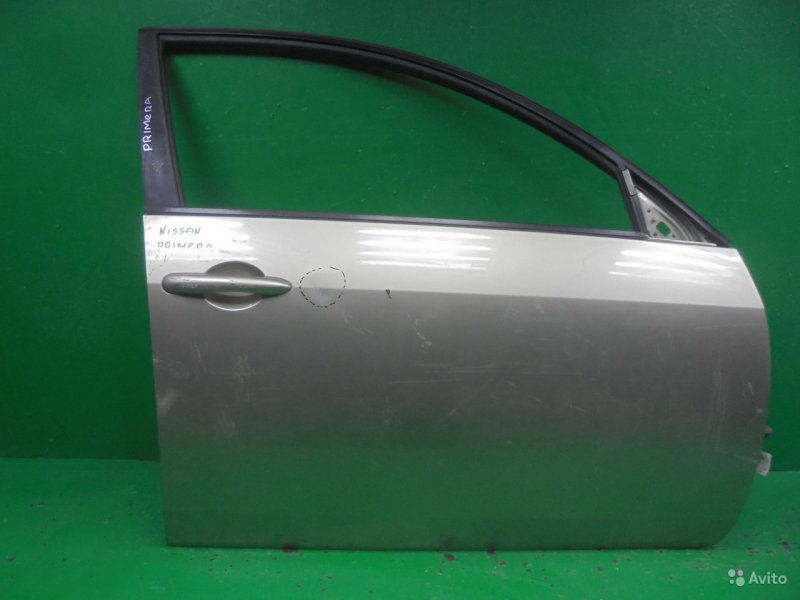 Дверь Nissan Primera 3 2001 передняя правая (б/у)