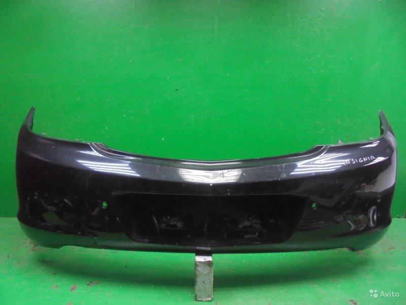 Бампер Opel Insignia 2008 задний (б/у)