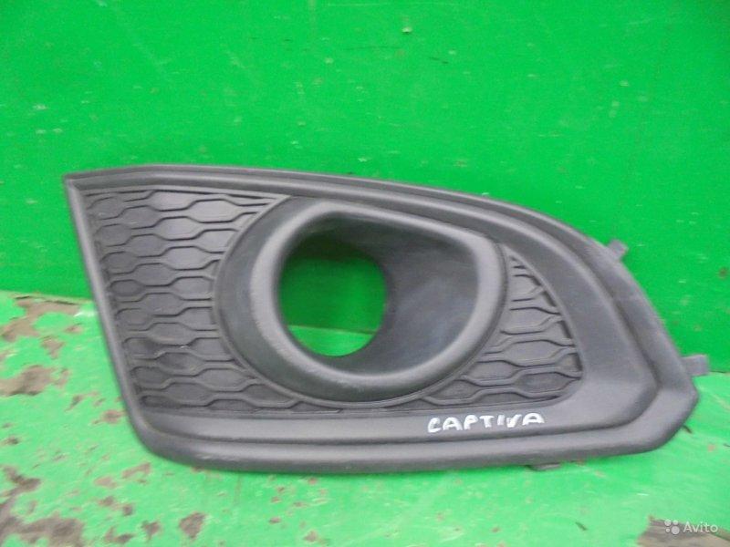 Накладка двери Chevrolet Captiva C140 РЕСТАЙЛИНГ 2 2013 передняя правая (б/у)