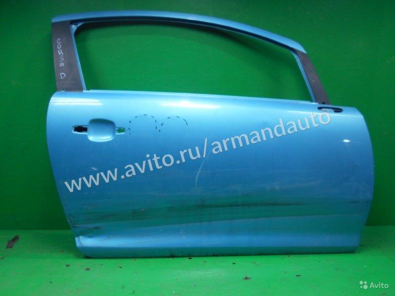 Дверь Opel Corsa D 2 РЕСТАЙЛИНГ 2011 правая (б/у)