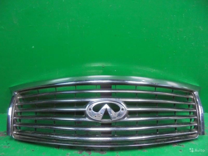 Решетка радиатора Infiniti Qx56 Z62 2010 (б/у)