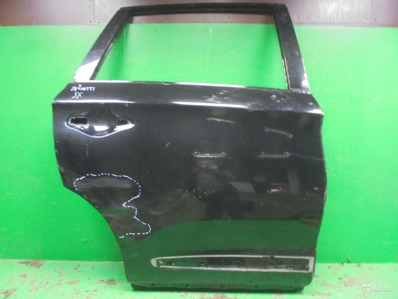 Дверь Infiniti Jx Qx60 L50 2012 задняя правая (б/у)
