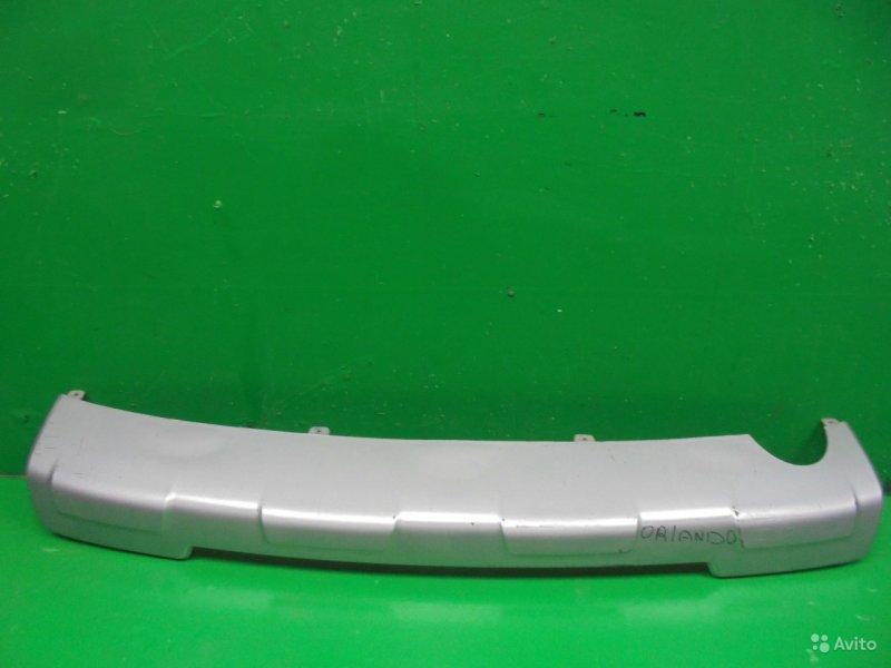 Накладка бампера Chevrolet Orlando 2010 задняя (б/у)