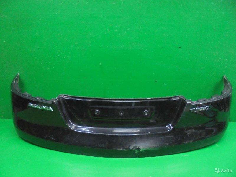 Накладка бампера Opel Insignia РЕСТАЙЛИНГ 2013 задняя (б/у)