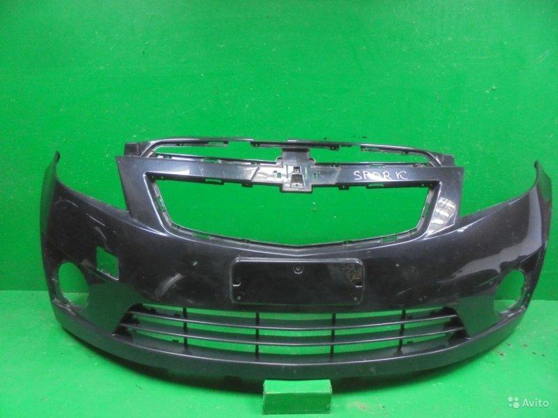 Бампер Chevrolet Spark 3 2009 передний (б/у)