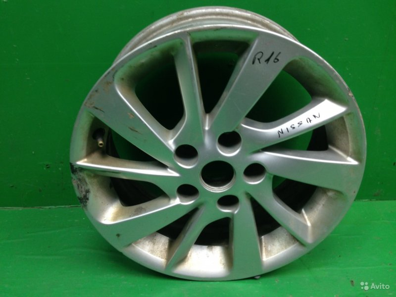 Диск r16 Nissan Sentra B17 2012 (б/у)