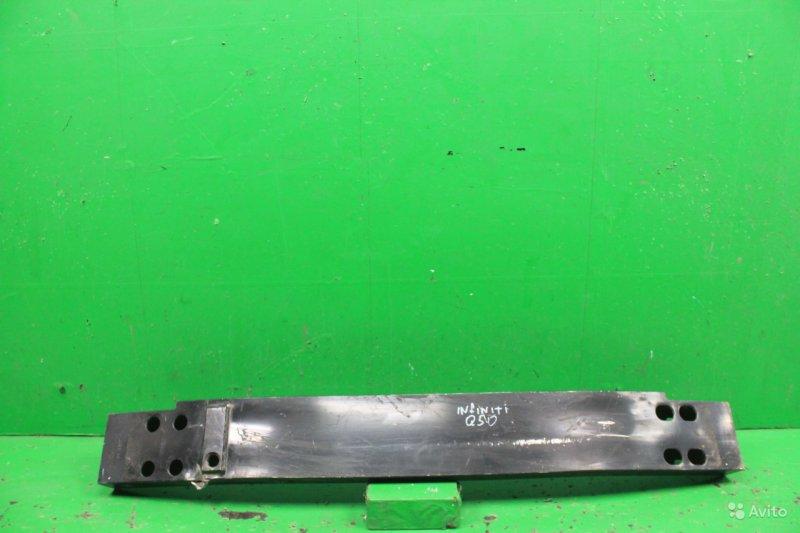 Усилитель бампера Infiniti Q50 2013 передний (б/у)