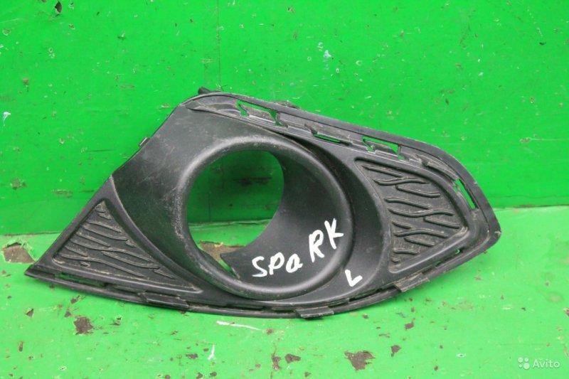 Накладка птф Chevrolet Spark 3 2009 передняя правая (б/у)