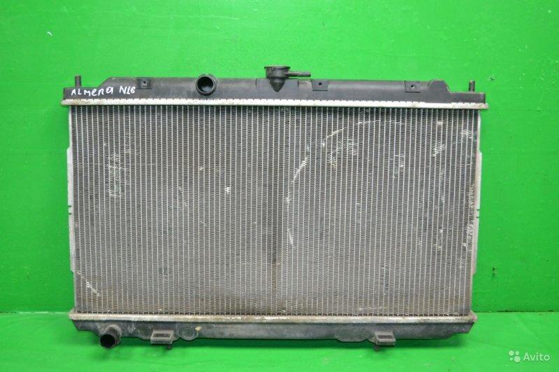 Радиатор охлаждения Nissan Almera Classic N16 2006 (б/у)