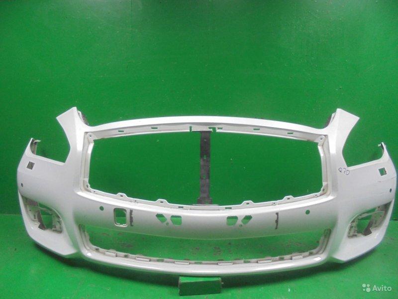 Бампер Infiniti M Y51 2010 передний (б/у)