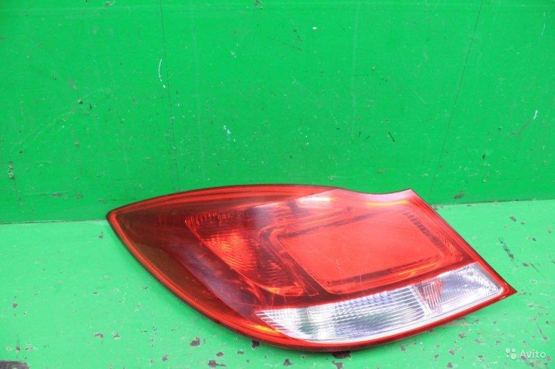 Фонарь Opel Insignia 2008 левый (б/у)