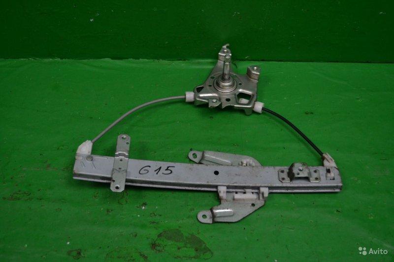 Трапеция стеклоподъемника Nissan Almera G15 2012 (б/у)
