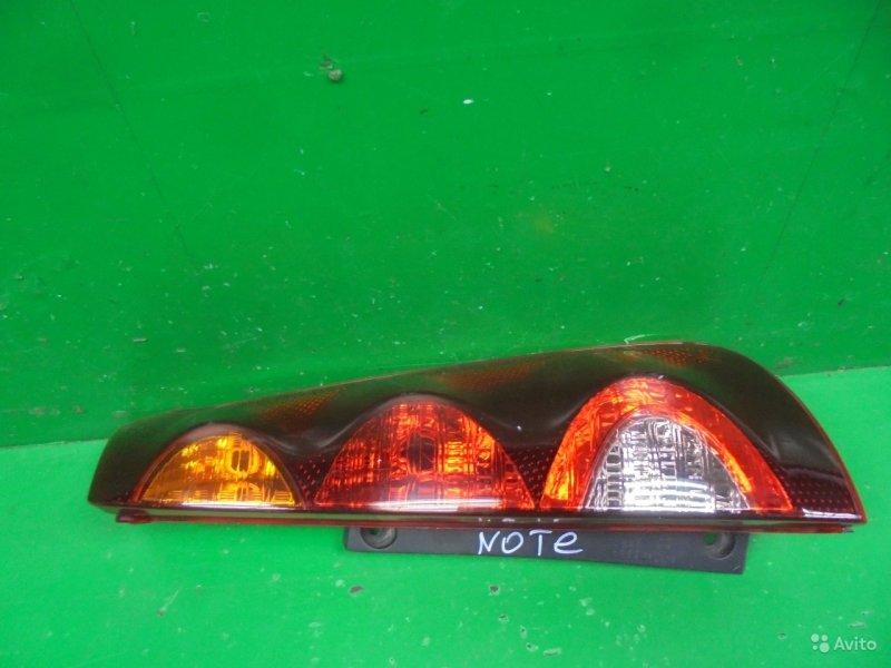 Фонарь Nissan Note 2005 правый (б/у)