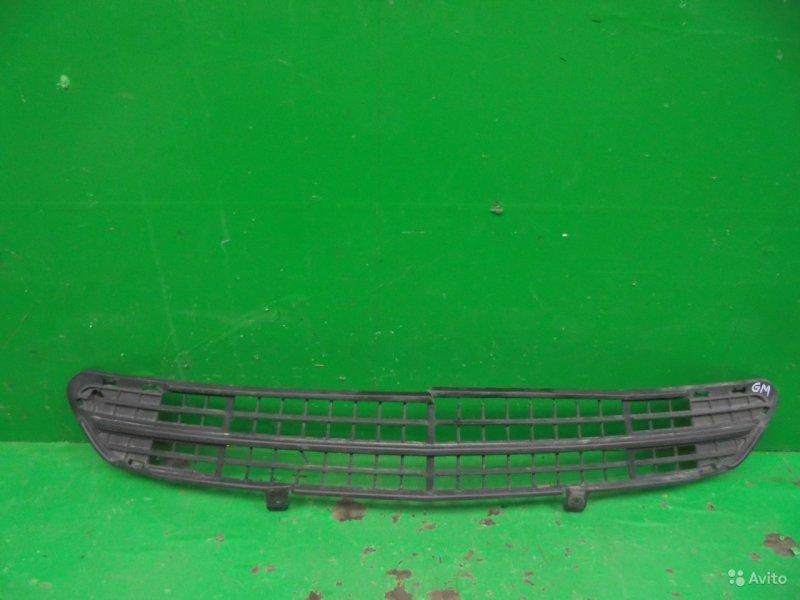 Решетка бампера Chevrolet Cruze РЕСТАЙЛИНГ 2012 передняя (б/у)