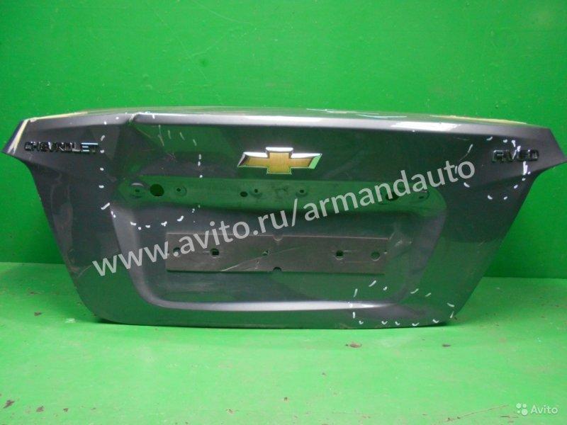 Крышка багажника Chevrolet Aveo T300 2011 (б/у)
