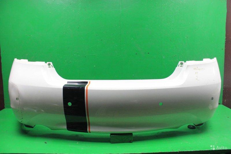 Бампер Infiniti M Y51 2010 задний (б/у)