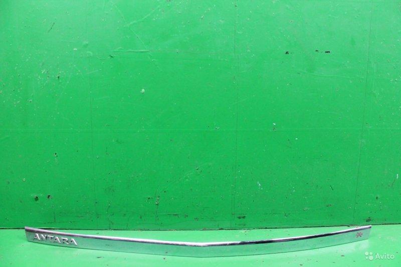 Накладка крышки багажника Opel Antara 2006 (б/у)