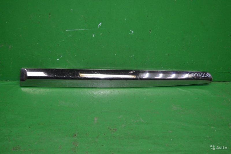 Накладка двери Infiniti Jx Qx60 2013 задняя правая (б/у)
