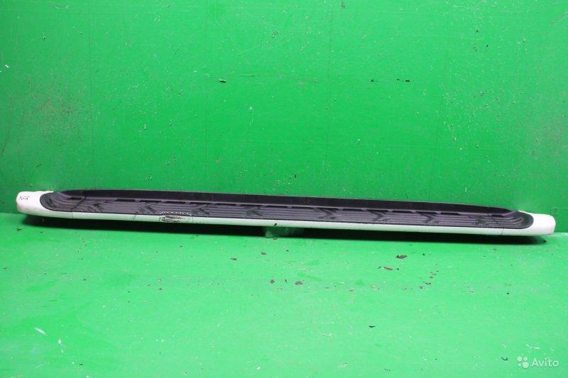 Подножка Nissan Patrol Y62 2010 правая (б/у)