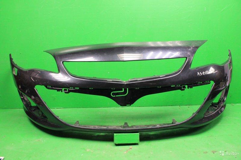 Бампер Opel Astra J РЕСТАЙЛИНГ 2012 передний (б/у)