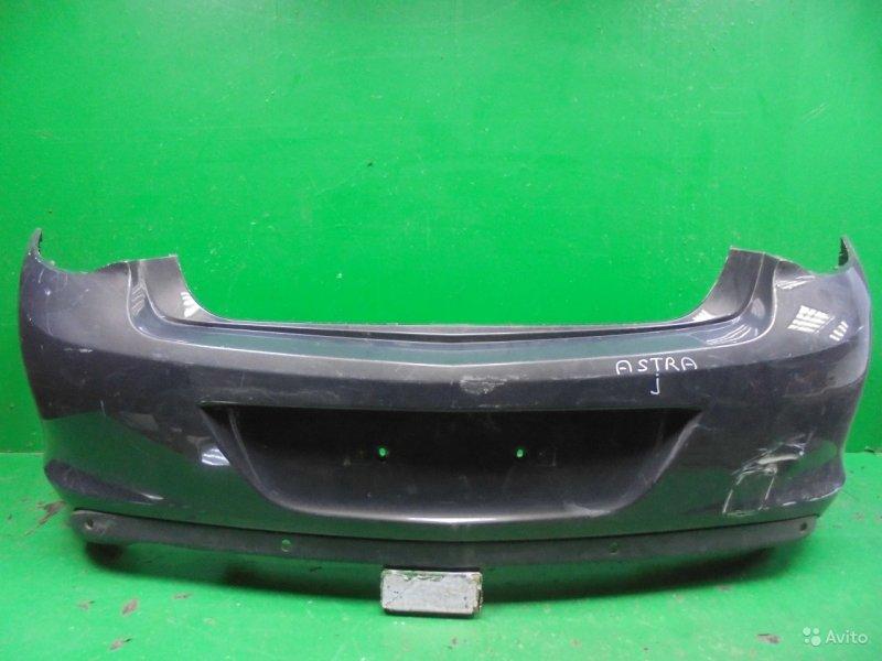 Бампер Opel Astra J РЕСТАЙЛИНГ 2012 задний (б/у)