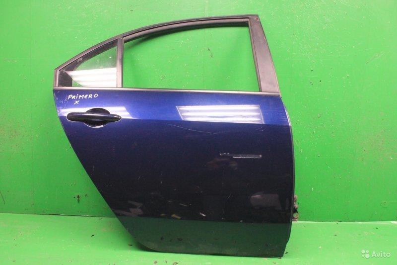 Дверь Nissan Primera 3 2001 задняя правая (б/у)