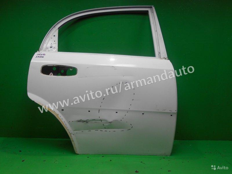 Дверь Chevrolet Lacetti ХЭТЧБЕК 2004 задняя правая (б/у)