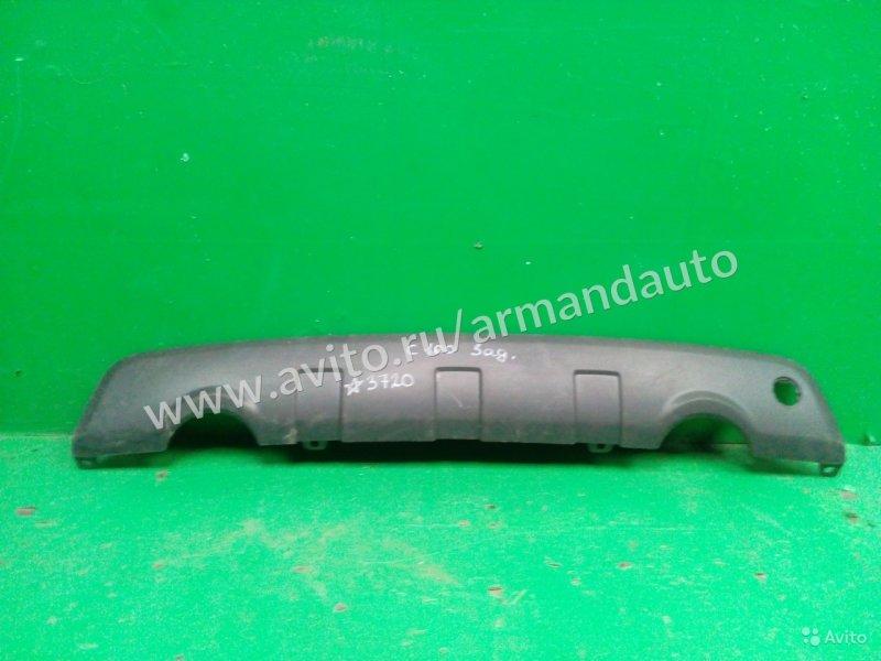 Накладка бампера Chevrolet Captiva C100 2006 задняя (б/у)