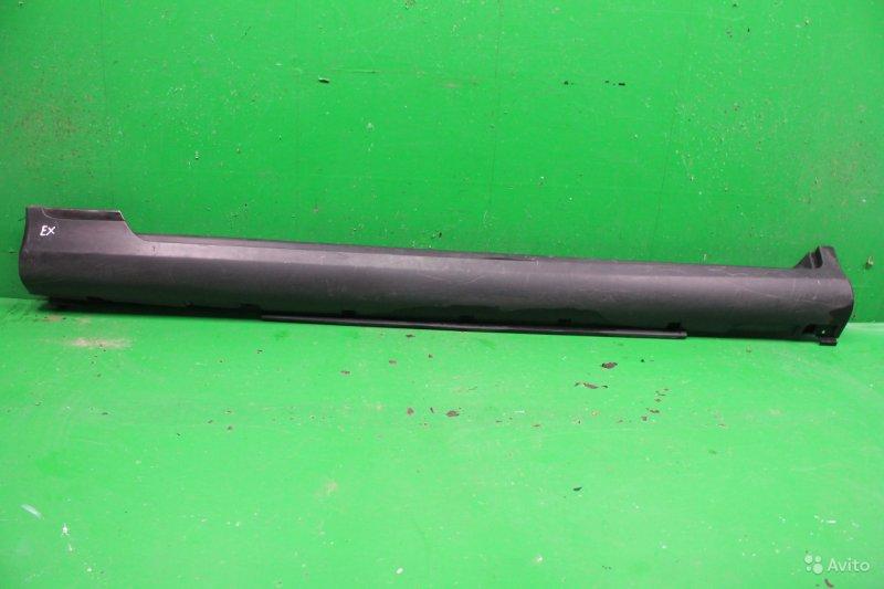Накладка порога Infiniti Ex J50 2007 левая (б/у)