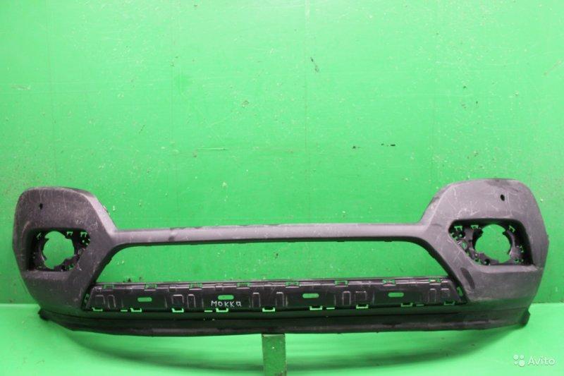 Юбка бампера Opel Mokka 2012 передняя (б/у)