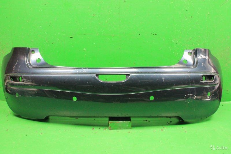 Бампер Nissan Note 2005 задний (б/у)