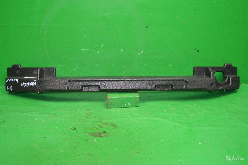 Абсорбер бампера Nissan Sentra B17 2012 передний