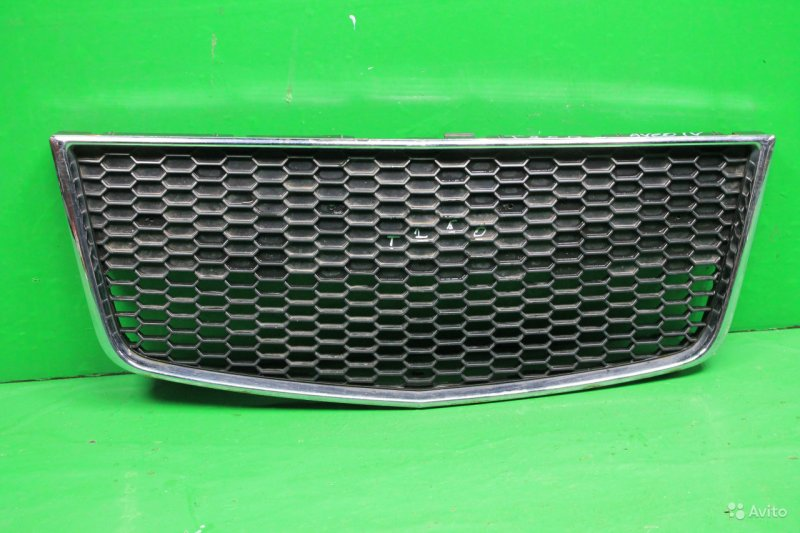 Решетка радиатора Chevrolet Aveo T255 РЕСТАЙЛИНГ 2006 (б/у)