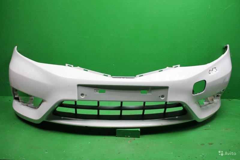 Бампер Nissan Tiida C13 2015 передний (б/у)