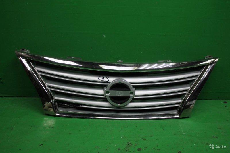 Решетка радиатора Nissan Sentra B17 2012 (б/у)