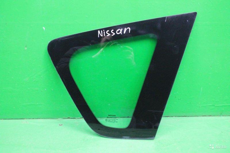 Стекло Nissan Note 2005 заднее правое (б/у)